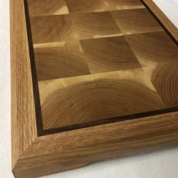 End grain and inlay cutting board